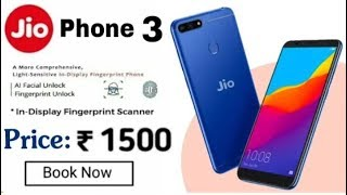 jio phone 3 lounch date/price /and specs full hands on review and unboxing
