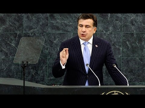 Карабах. Саакашвили в ООН: Правда о Карабахском Конфликте! Нагорный Карабах - Азербайджан не Армения