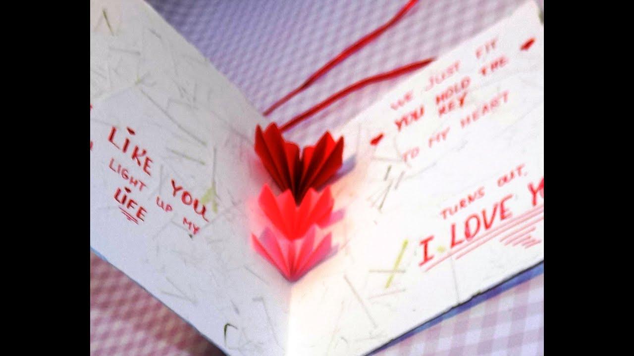 Love открытка своими руками 58