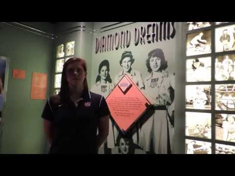 Ashley Bratcher on the Cooperstown Women's Baseball Classic