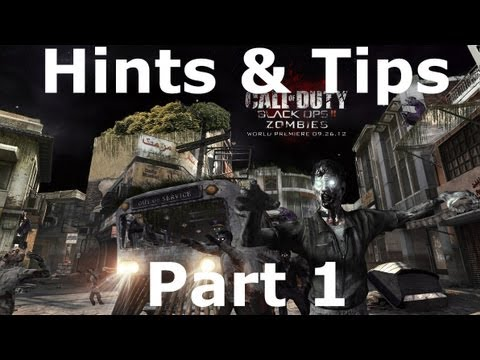 Black Ops 2 Transit Zombies hints and tips|Part 1|The Diner