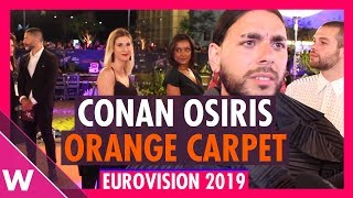 Conan Osiris (Portugal) @ Eurovision 2019 Red / Orange Carpet Opening Ceremony