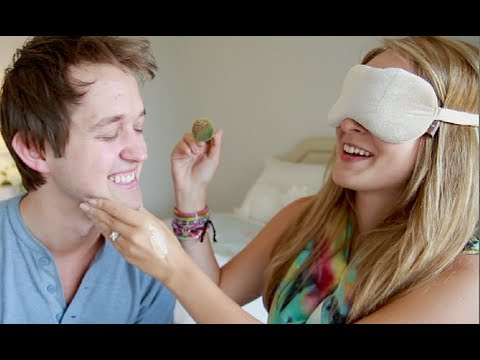 Blindfolded Makeup Challenge with Luke Conard!