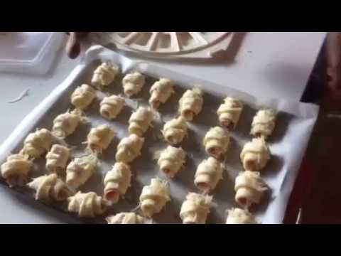 Croissants feuilletés au Thermomix