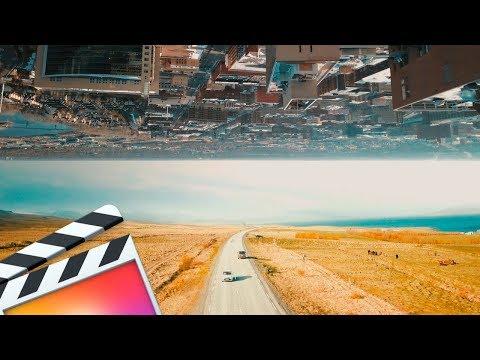 Two Worlds Effect (Drone Footage) | Final Cut Pro X Tutorial