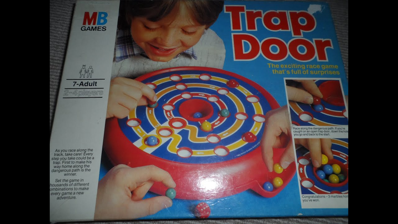 Board Game Traps Board Game Instructions