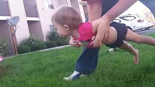 FUNNY Baby Hate Grass | BEST Babies Video Compilation