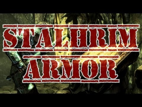 Skyrim: Dragonborn DLC Stalhrim Quest Walkthrough with Stalhrim Weapons and Armor Showcase