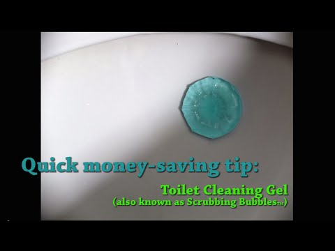 Quick money saving tip: Toilet Cleaning Gel (also know as Scrubbing Bubbles)