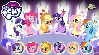My Little Pony: Harmony Quest #66   Fight The Boss w/ All 6 PONIES w/ SPECIAL POWERS! By Budge
