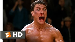 Video clip Bloodsport (9/9) Movie CLIP - Matte! Victory! (1988) HD