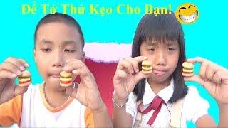 Video Hài ❤Để Tớ Thử Kẹo Giúp Bạn❤Baby channel❤