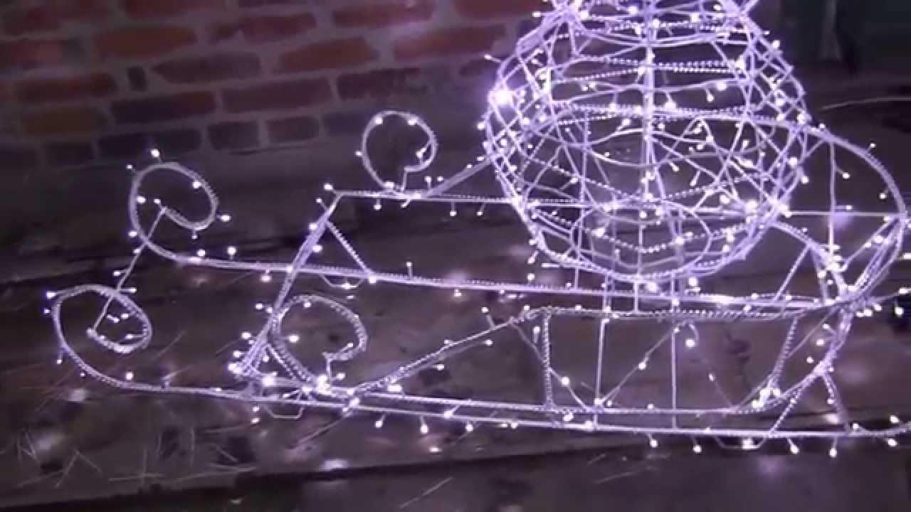 Светящийся снеговик из проволоки своими руками 13