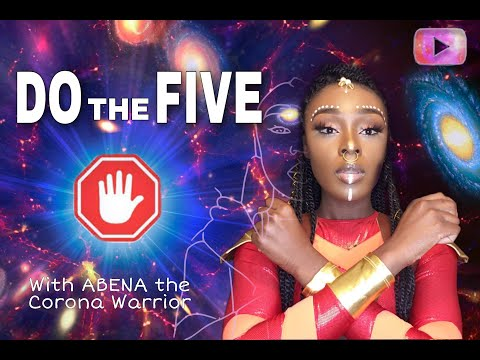 Abena The Corona Warrior  (Joins the fight to #DoTheFive and help stop the spread of #Covid19)