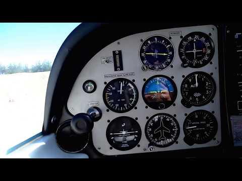 "Аэродром "" Пушистый"" Центр технических видов  спорта  Tecnam P2002 Sierra =   http://цтвс.рф"