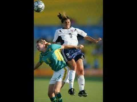 Mia Hamm!!!!!!!!!! Video