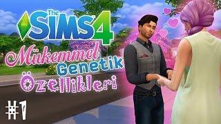 İLK BAKIŞTA AŞK - The Sims 4 Mükemmel Genetik Özellikleri - #1