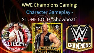 "WWE Champions - 🎥 Stone Cold Steve Austin ""Showboat"" Gameplay Video"