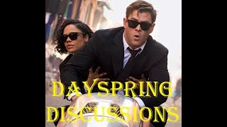 Dayspring Discussions April 25, 2019: Trailers for MIB International, Gemini Man, and Swamp Thing