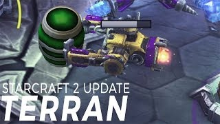 Starcraft 2 Patch 2017 - Terran Overview - MULES MINE GAS?!