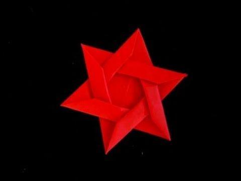 Складываем звезду Давида из