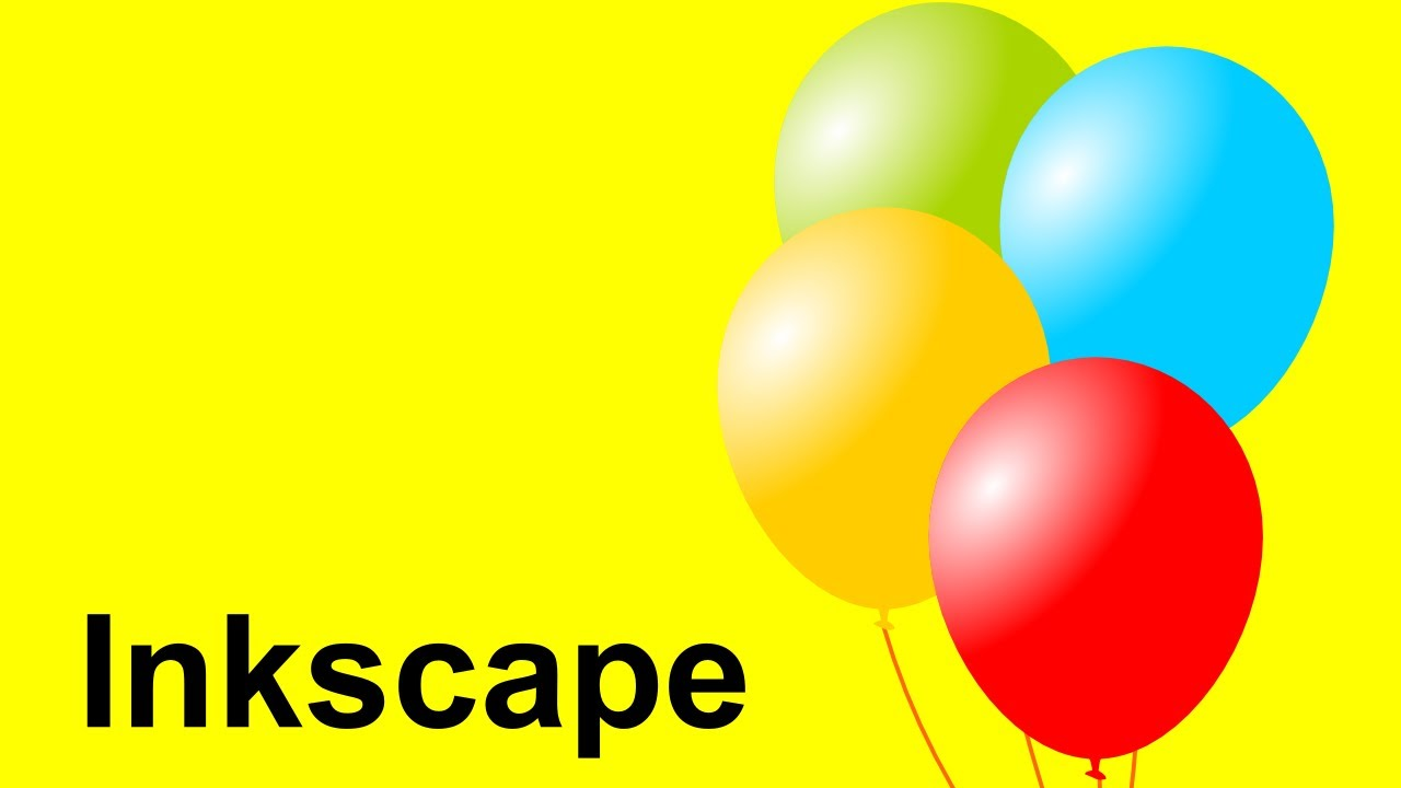 Inkscape Vector Balloons Inkscape Youtube