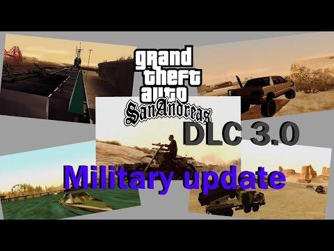 DLC 3.0 Militar atualização
