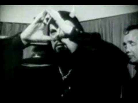 Disturbing Real Satanism, Anton Lavey And The Church Of Satan 666 Occult video