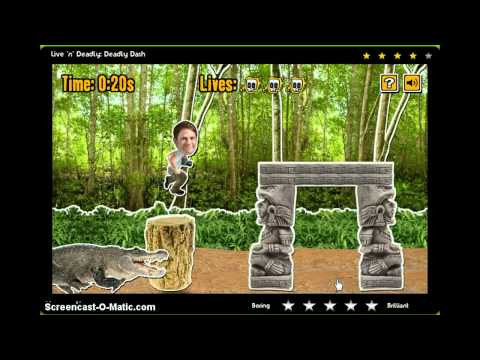 Playing CBBC Games-Deadly Dash-1st Episode