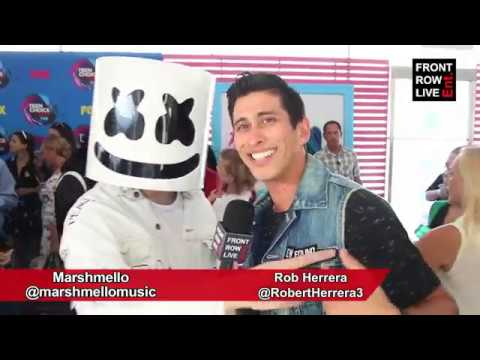 """Marshmello Interview on New Single """"Silence"""" ft. Khalid & Love for New Found Glory"""