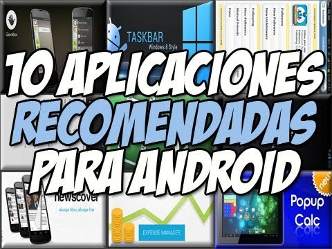 10 Aplicaciones android RECOMENDADAS | Barra de tareas Windows 8 - Happy tech android