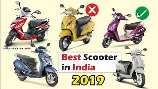 Best Scooter in India 2019, in terms of sales & performance honda Activa 5G, Jupiter, Maestro edge