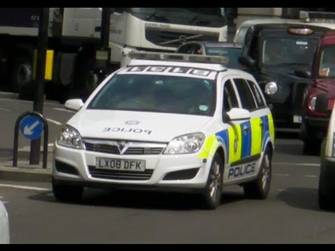 British Transport Police in London
