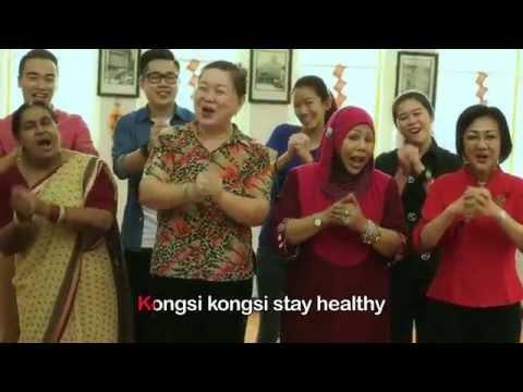 Hotlink 恭喜發財: Grannies Sing Ohhsome Hotlink CNY Song!