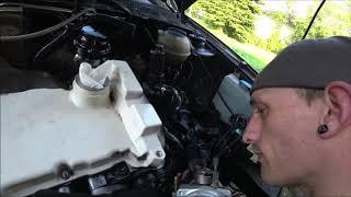 Golf 3 VR6 Turbo Vorbereitung für Turbo Gockel Feuer Frei