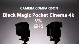 Black Magic Pocket Cinema Camera 4k vs. GH5