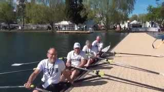 2014 MUBC 4x Gold Medallists FISA World Masters G Division