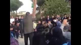 سخنرانی محمد نوریزاد بر مزار ستار بهشتی