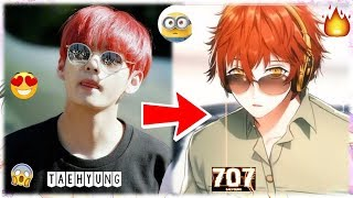 Kpop Idols As Anime Characters in Real-Life (Part 1)
