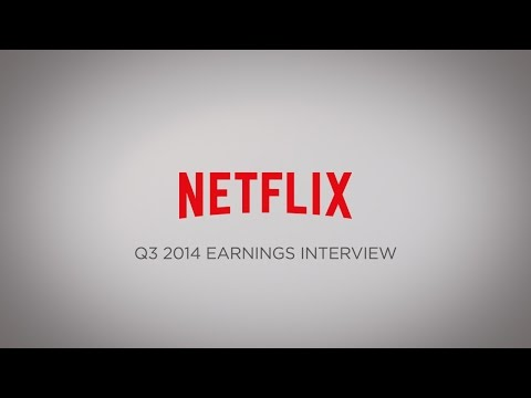 Netflix Q3 2014 Earnings Interview