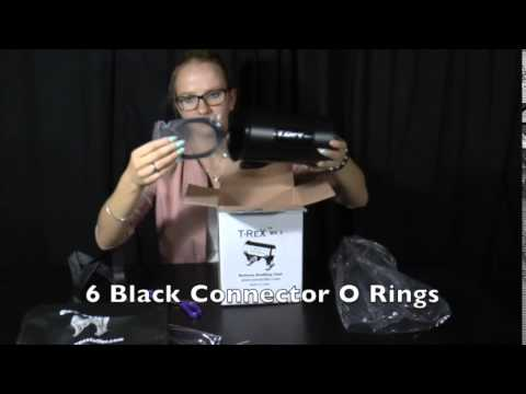 Unboxing and assembling the T-ReX MK2 Black balloon stuffing tool