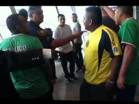 Mexico Vs Brazil  Fans Fight