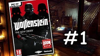 Wolfenstein: The New Order - Akční let's play | #1 | CZ/SK