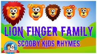 Nursery Rhymes and Kids Songs | Lion Finger Family Songs