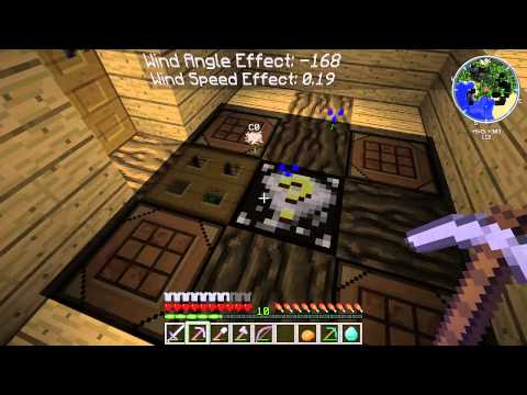 Minecraft Tornado Survival (Localized Weather Mod) S4E11 Part 2 Weather Tower