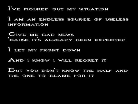New Found Glory - At The Least I'm Known For  Something + Lyric