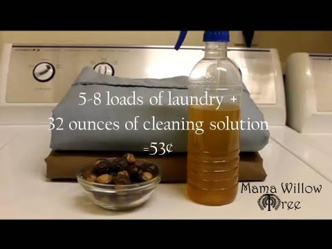 Cleaning with soap nuts natural chemical free