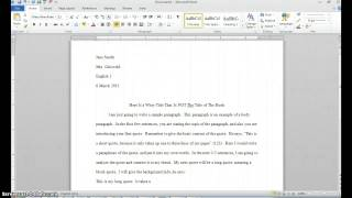 How to write an intergrative essay