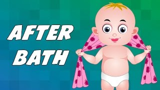 After a bath | English Nursery Rhymes | Kids Animation Rhymes Songs
