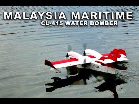 Malaysia Maritime RC CL-415 @Taman Tasik Ampang Hilir